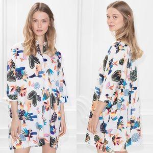 & Other Stories cotton shirt dress